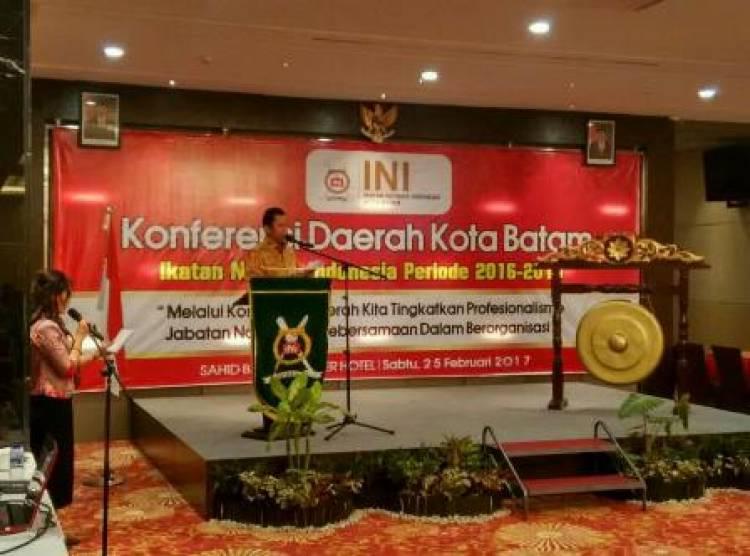 Konferensi Daerah Ikatan Notaris Kota Batam